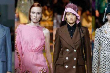 Sfilata Prada alla Milano Fashion week