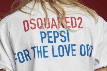 Nuova capsule collection creata da Dsquared in collaborazione con Pepsi