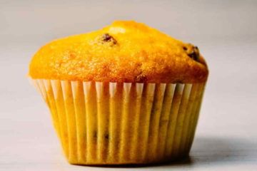 muffin alla zucca e uvetta