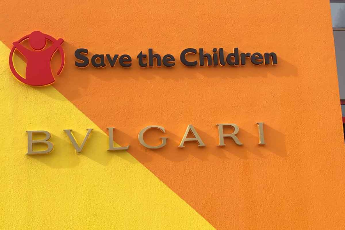 Bulgari e Save the Children