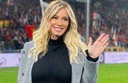Diletta Leotta a Marassi per il Derby