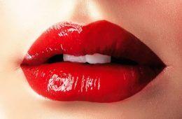 make up per le feste rosso e oro