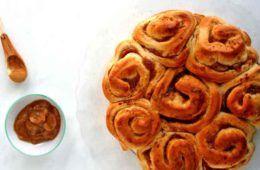 torta di rose di pasta brioche