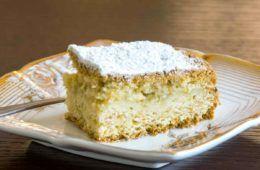 torta di mandorle e ricotta