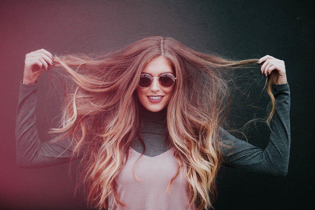 balsamo fai da te per capelli della donna