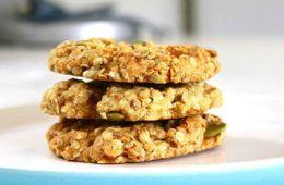 cookies di farro e fiocchi d'avena