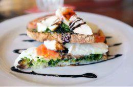 crostone al salmone