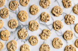 cookies con fior di sale