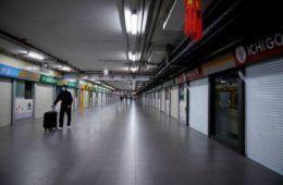 coronavirus e negozi chiusi