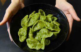 ravioli verdi di spinaci