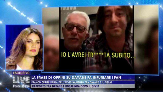 Dayane Mello, Live - Non è la D'Urso