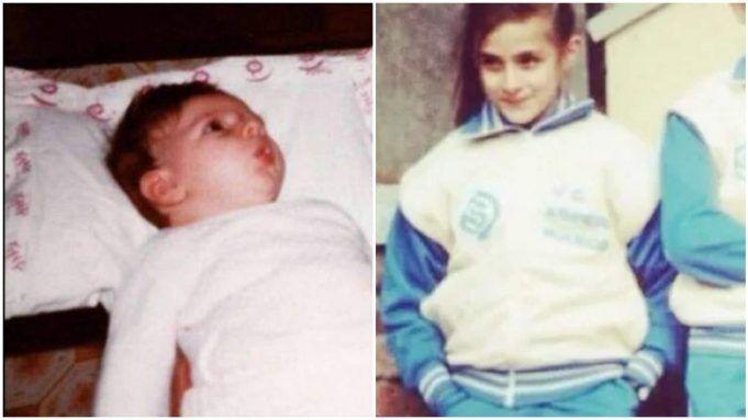 Elisa Isoardi bambina