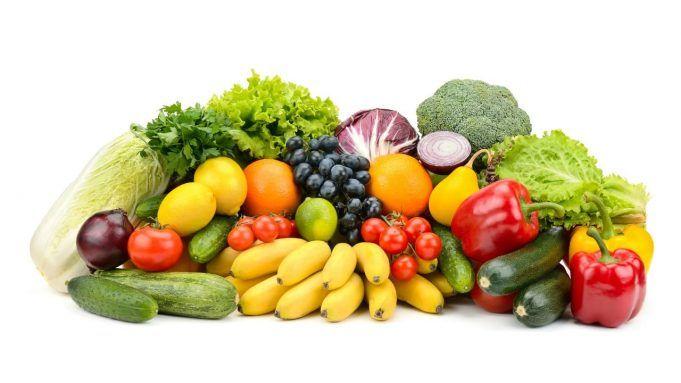 Quali le porzioni previste di frutta e verdura per seguire una dieta sana.