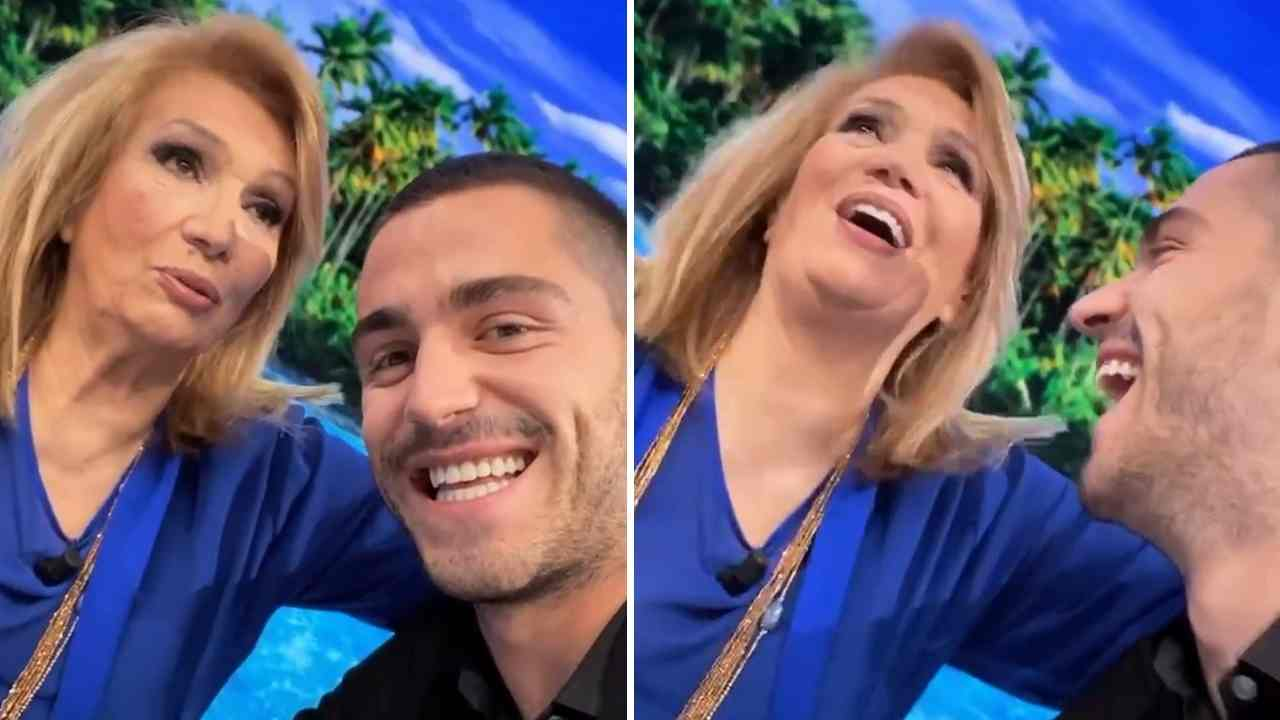 Iva Zanicchi e Tommaso Zorzi, L'Isola dei Famosi 2021