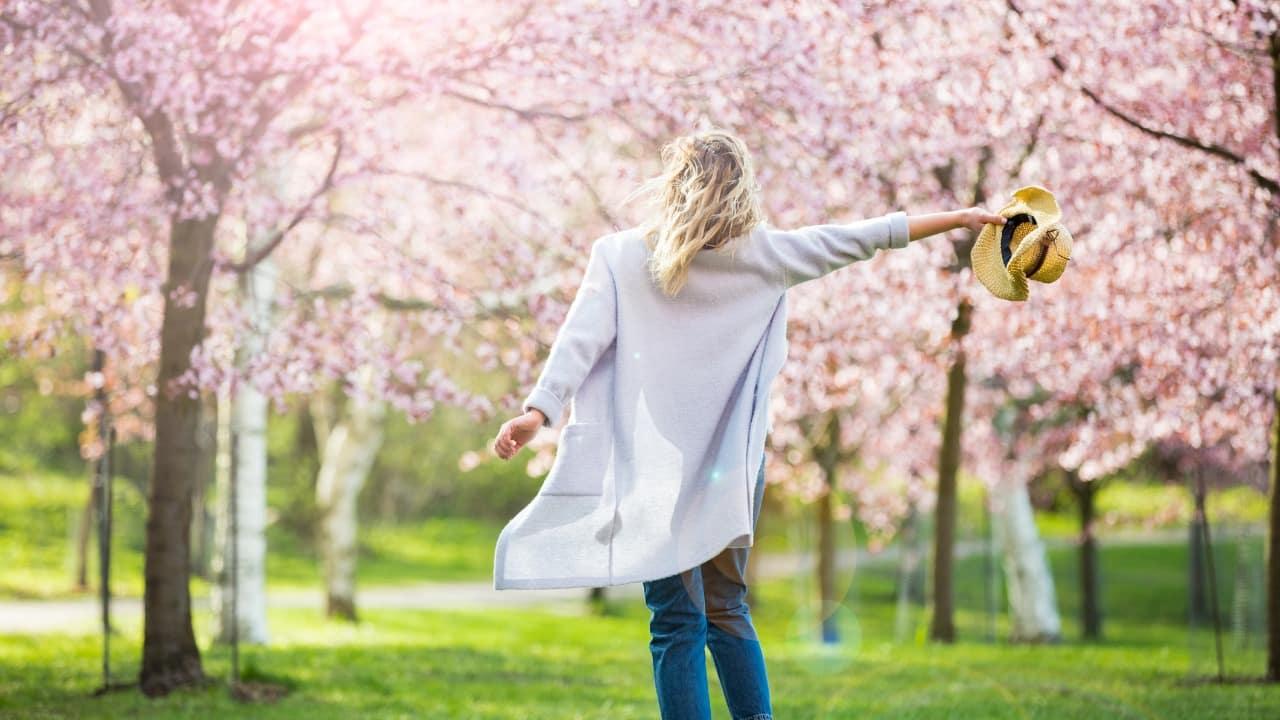 Il cambiamento sta arrivando la primavera.