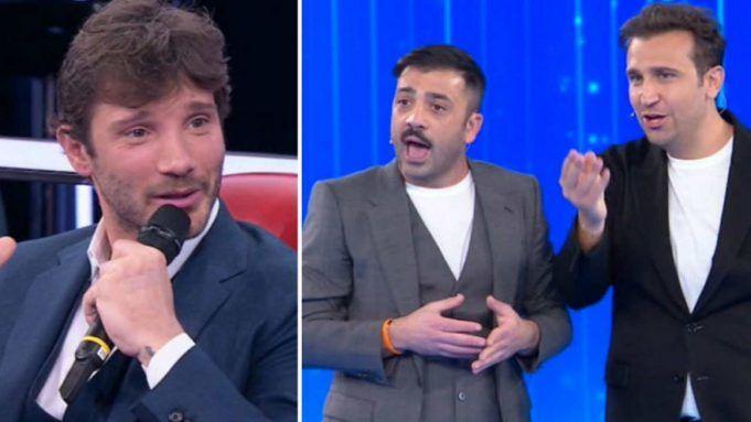 Stefano De Martino, Pio e Amedeo - Amici 2021