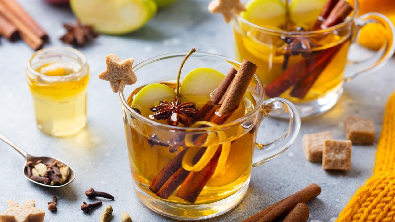 Perdere peso con il tè alla cannella.