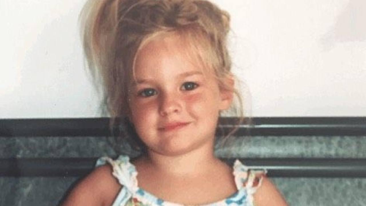 Victoria De Angelis da bambina piccola