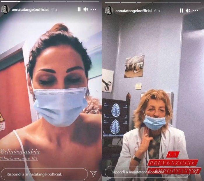 Questa mattina la Tatangelo si è recata in Ospedale. A rivelarne il motivo, la stessa cantante tra le sue Stories. L'importante messaggio.