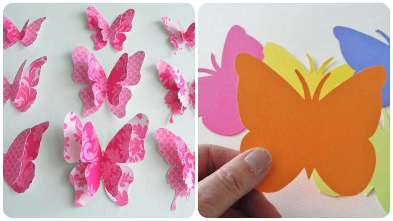 farfalle carta