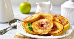 frittelle di mele con yogurt