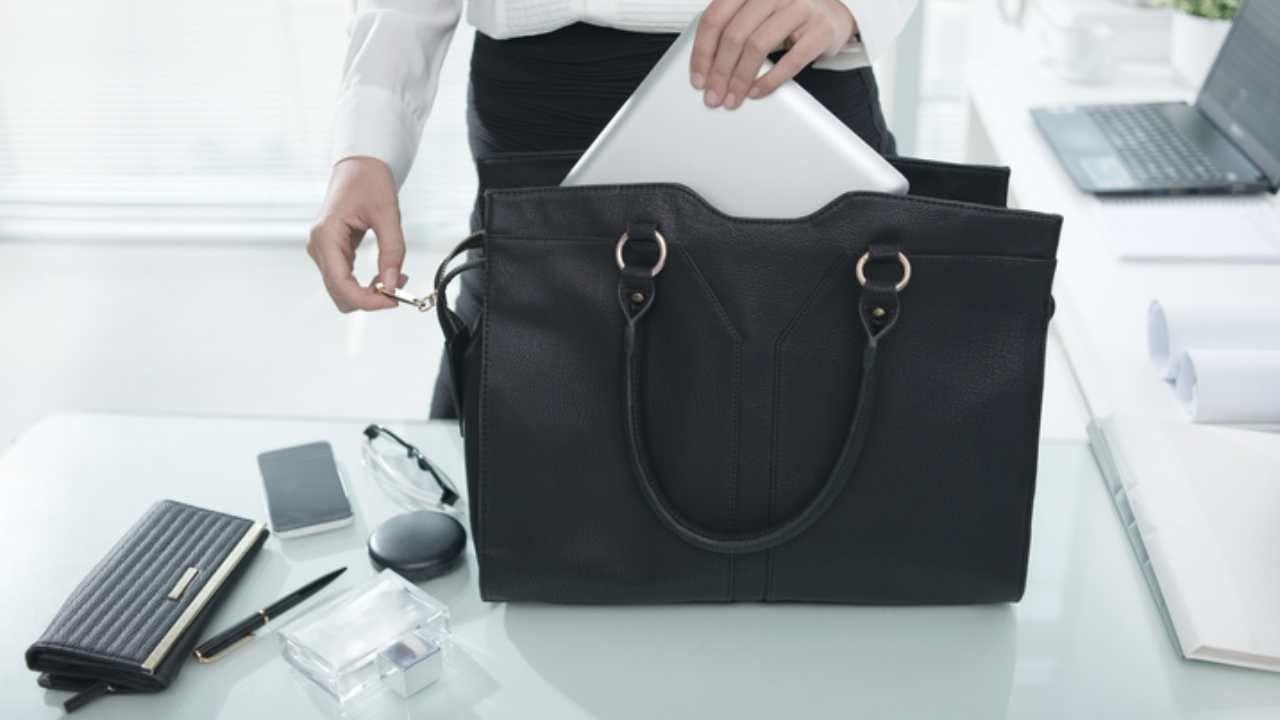 gadget per donna che lavora in ufficio