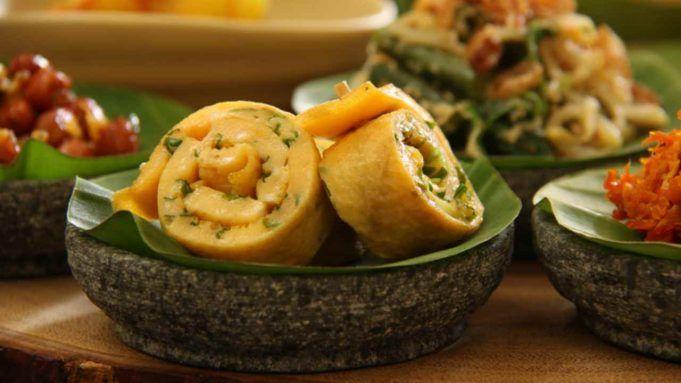 girelle di frittata con zucchine ripiene