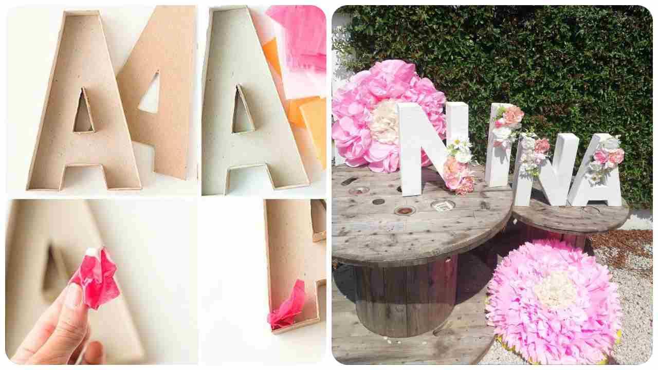 lettere fiorite