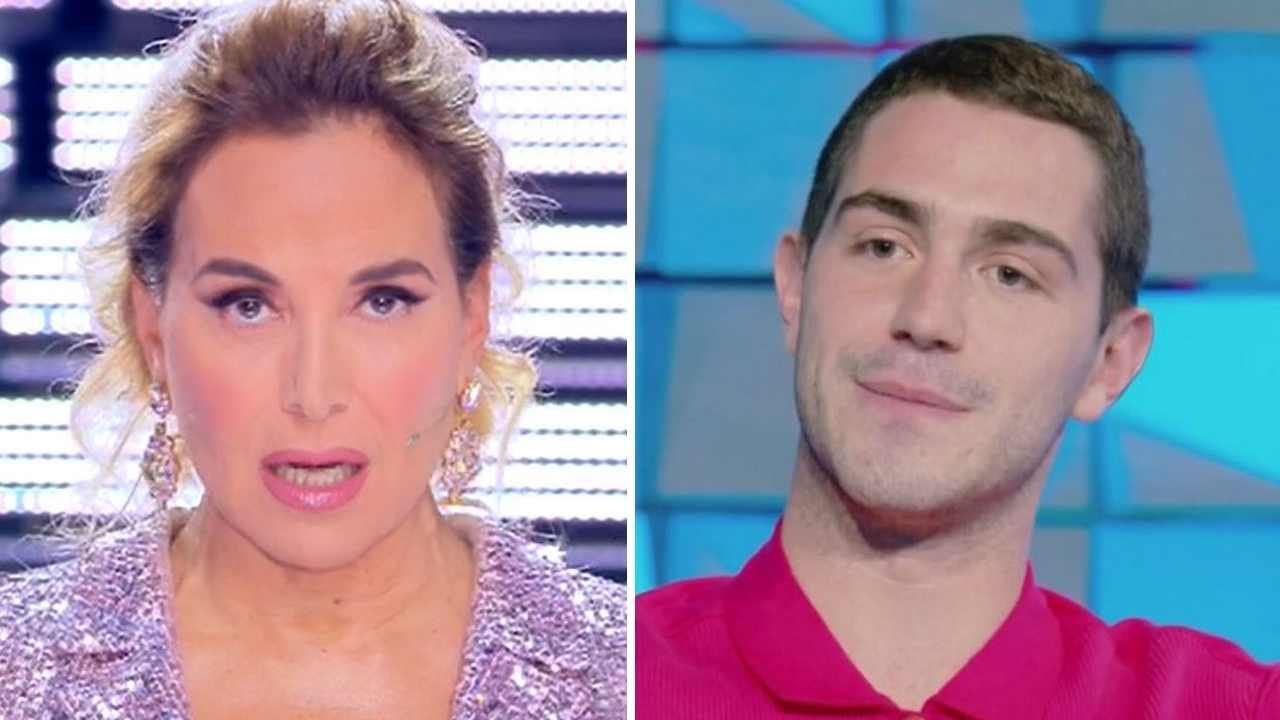 Barbara D'Urso e Tommaso Zorzi