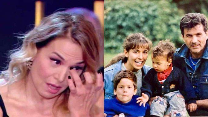 Barbara D'urso e i suoi figli