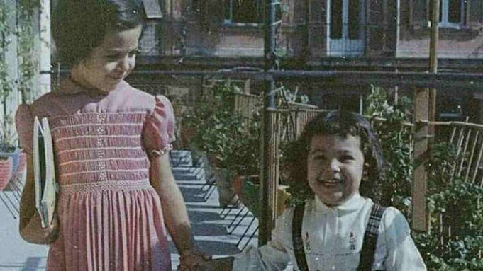 Barbara d'Urso da bambina