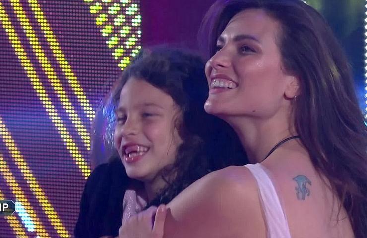 Dayane Mello e sua figlia Sofia