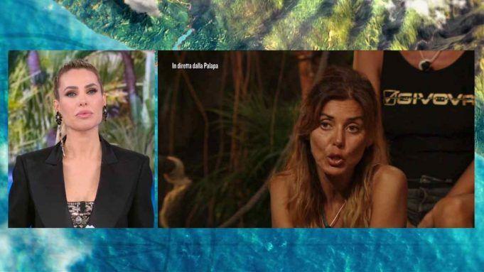 Ilary Blasi e Daniela Martani, L'Isola dei Famosi 2021