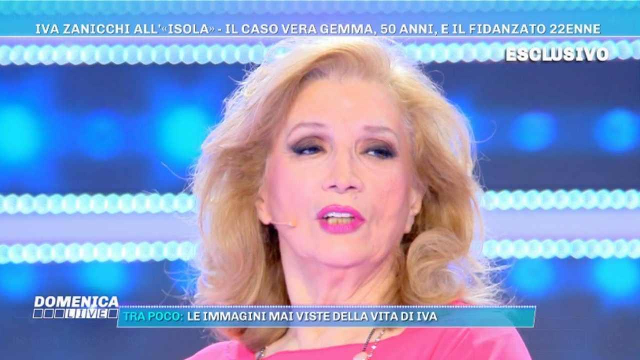 Iva Zanicchi, Domenica Live