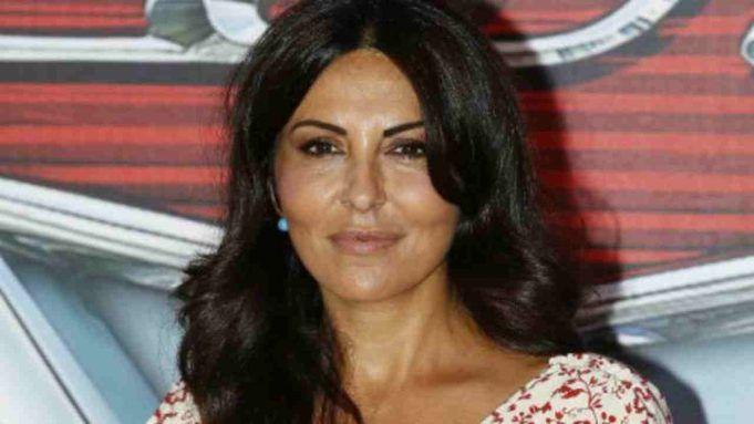 Sabrina Ferilli prima della chirurgia