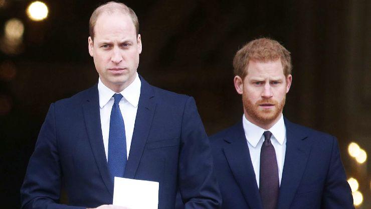 Principe William e Harry separati al funerale del Principe Filippo: ecco perchè