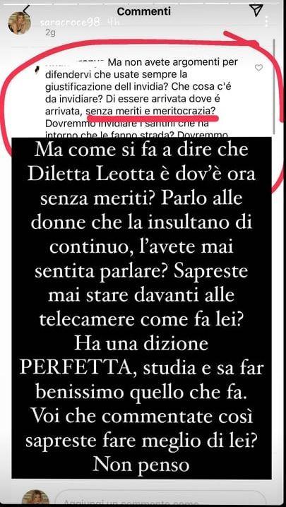 """Diletta Leotta, Sara Croce entra nella polemica e non le manda a dire: """"Senza meriti.. """""""