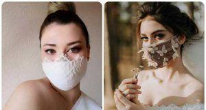 trucco sposa mascherina