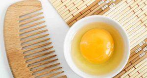 uova per capelli più forti e lunghi