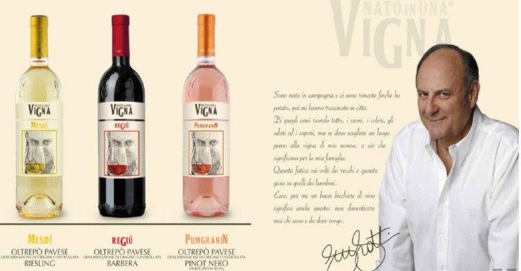 Gerry Scotti ha un'azienda che produce vini: ecco quanto costano