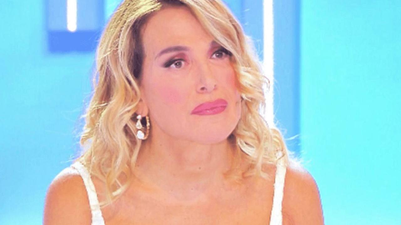 Barbara D'Urso senza trucco
