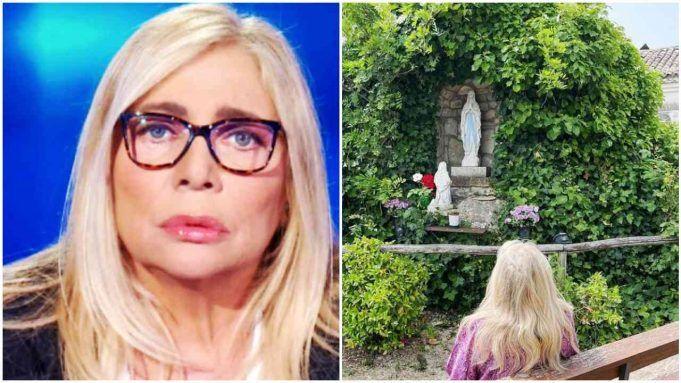 Mara Venier, la preghiera alla madonna