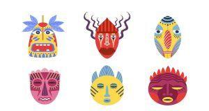 test personalità maschere
