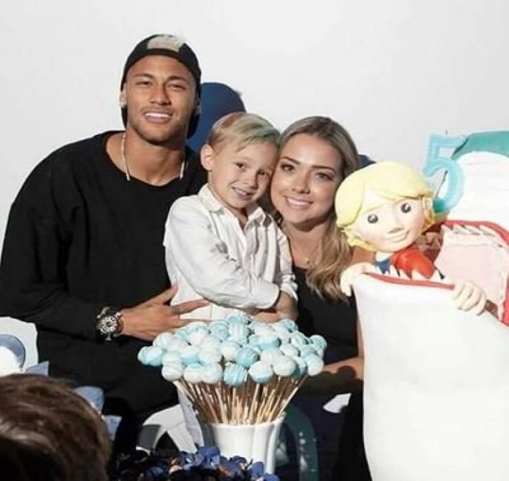 Neymar e famiglia
